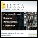 Tierra Constulting website